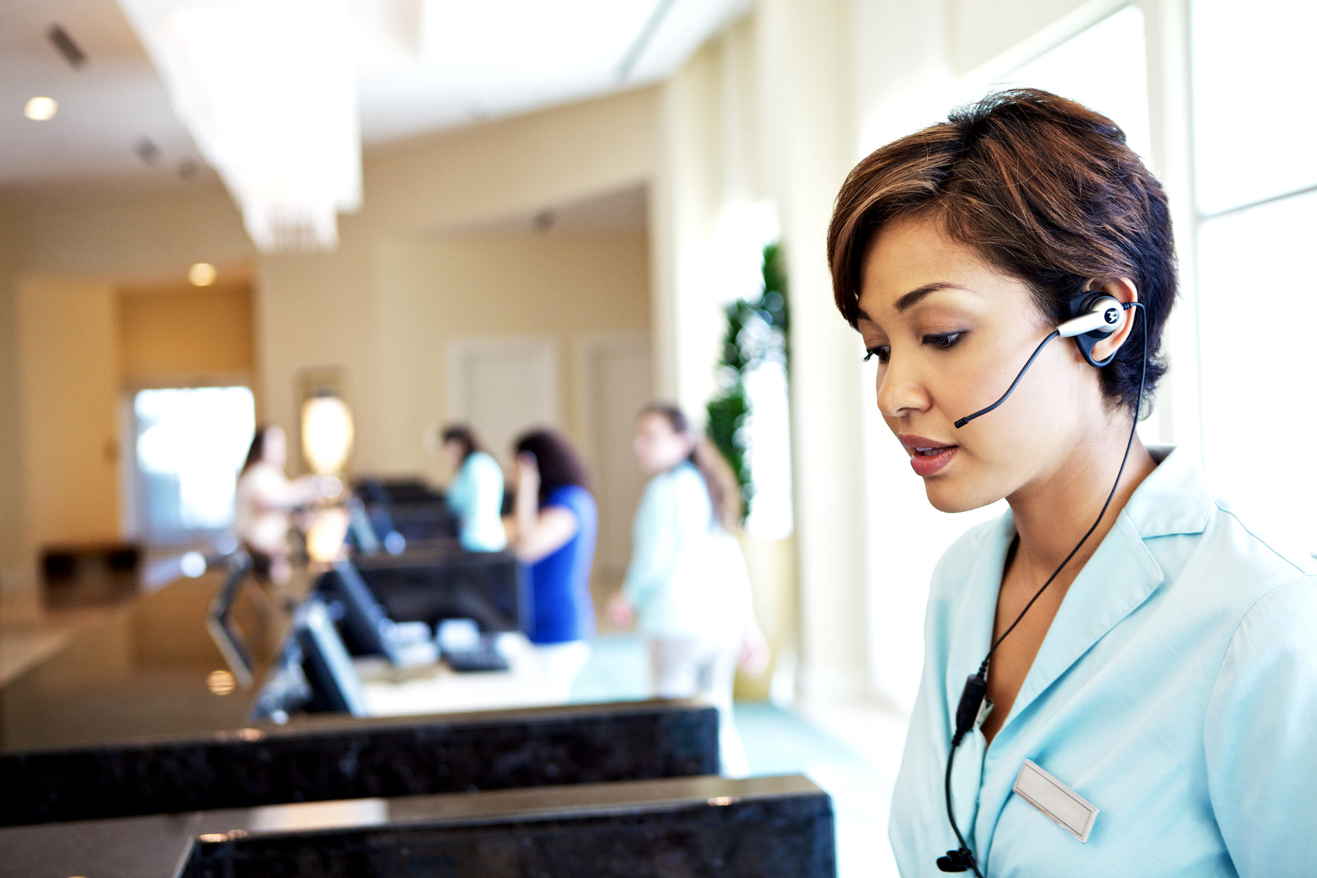 two way radios in the hospitality industry