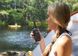 using two way radios for camping